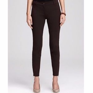 Eileen Fisher Ponte Ankle Zip Riding Pants Skinny